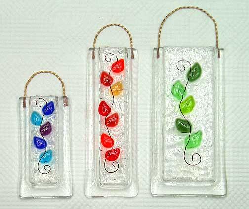 Vasesoriginal Lattas Fused Glass