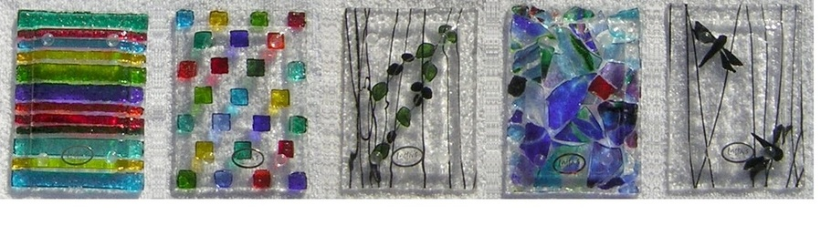 Fused Glass Soap Dishes
