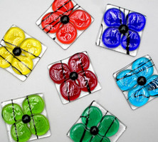 Latta's Fused Glass Magnets