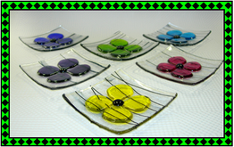 fused glass jewelry dish